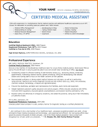 9 Resume Samples Medical Assistant Budget Reporting