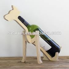 single wine rack. Contemporary Single Wooden Wine Holder Bottle Rack Bottle Animal Display Stand Single  Wood Dog And Rack B