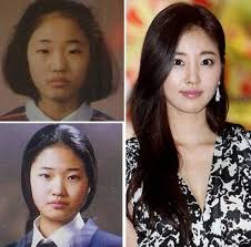 korean actresses plastic surgery before and after without make up