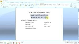 How To Create Resume On Word – Slint.co