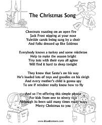 BlueBonkers: The Christmas Song, Free Printable Christmas Carol ...