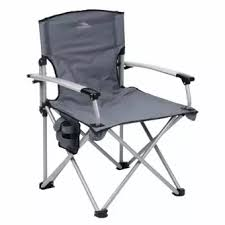 outdoor camping chair. Unicorn 124614 Portable Deluxe Folding Outdoor Camping Chair (Grey)