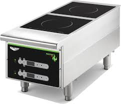 vollrath 912hidc 5 800 watt electric double countertop induction range digital controls