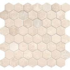 fresh daltile hexagon tile