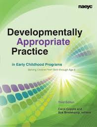 Early Childhood Development Chart Third Edition Developmentally Appropriate Practice Naeyc