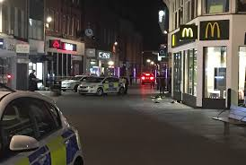 police called to incident near mcdonald s in maidenhead high  police called to incident near mcdonald s in maidenhead high street