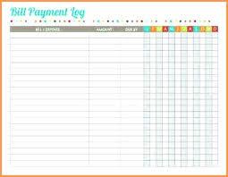 Bill Payment Tracker Spreadsheet With Google Spreadsheet Templates