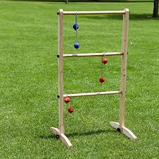 Wooden Ladder Ball Game Custom Amazon Sports Festival Premium Wooden Ladder Golf Ball Toss