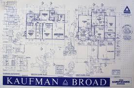 simpsons house floor plan unique simpsons house floor plan simpsonee plans the print real oj simpson