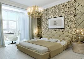 Master Bedroom Wall Decorating Interiors Master Bedroom Design Idea With Natural Platform Wood
