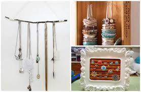 DIY jewelry display ideas
