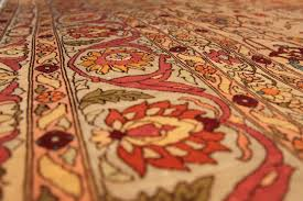 only during the past century have oriental rugs become valued throughout the world as works of art collectors often justify their attraction to these