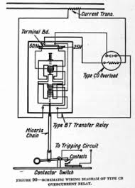 westinghouse protective and control relays from 1924 silent Current Relay Wiring Diagram schematic wiring diagram of type cb overcurrent relay current sensing relay wiring diagram