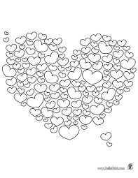Small Picture Printable Coloriages Coeurs Valentine colors Adult