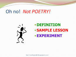 poetry t i m e introduction to poetry analysis ppt video online not poetry definition sample lesson experiment