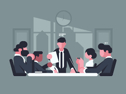 office meeting pictures. Business Meeting In Office. Of Shareholders Company. Vector Illustration Office Pictures