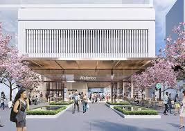Design Waterloo Waterloo Over Station Development Approved Architectureau