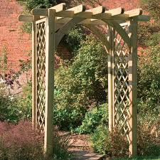 Small Picture Garden Wooden Arches Designs Garden ideas and garden design