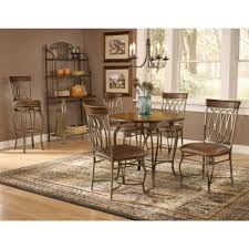 Hillsdale Dining Table Hillsdale Furniture Montello 5 Piece Old Steel Dining Set