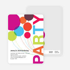 kids birthday party invitations kids birthday invitations paper culture