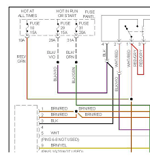 radio wiring diagram jetta 2002 radio wiring diagrams online