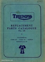 1959 triumph 6t t100 t110 t120 tr6