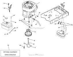 Engine on steering parts diagram
