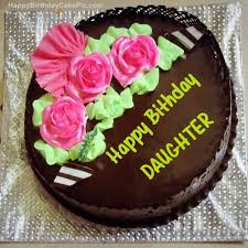 chocolate happy birthday cake for DAUGHTER. chocolate birthday cake for daughter on birthday cake images daughter