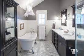 white bathroom cabinets with granite. bathroom - large traditional master white tile floor and marble idea in vancouver cabinets with granite