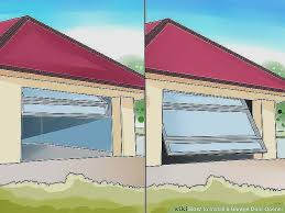 garage door spring size chart inspirational how to install a garage door opener with wikihow