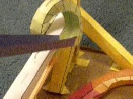 Free Printable Paper Roller Coaster Templates My First Marble Run Using Paper Roller Coaster Templates Youtube