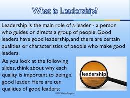 ten qualities of a good leader powerpoint presentation leadership ten qualities of a good leader powerpoint presentation