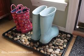 Decorative Boot Tray boot tray complete Dollar Store Mom 19