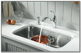 kohler kitchen sinks stainless steel undermount kitchen set