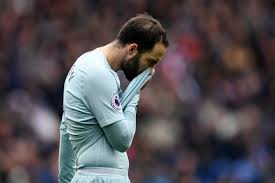 Pep guardiola's side fell to only a fifth loss of the season as chelsea staged a second half fightback to claim all three points at the etihad. Chelsea Boss Maurizio Sarri Unsure Over Gonzalo Higuain S Future And Insists He Must Improve