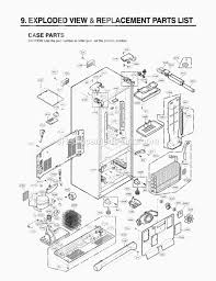lg refrigerator parts diagram. lg refrigerator parts diagram d