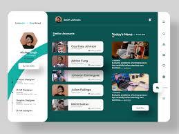 Web Designer Linkedin Job Searching Portal Linkedin Redesigned By Ui Ux Design By