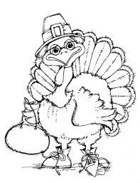 Small Picture Coloring Pages Free Printable Turkey Coloring Pages For Kids