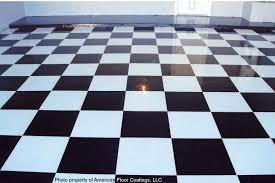 checkerboard garage ...