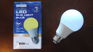 What Color Light Bulb Doesn T Attract Bugs Dynaforge Electric Yellow Led Bug Light Bulb