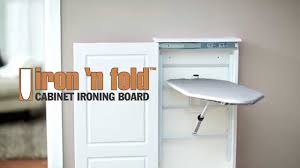 ... White Rectangle Modern Wooden Ironing Board Cabinet With Iron Ideas:  Amazing Ironing Board ...