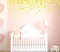 polka dot vinyl wall decals gold polka dot wall decals pink and gold nursery  gold decals