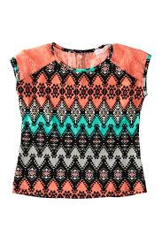 Pinc Premium Size Chart Pinc Premium Raglan Short Sleeve Top Big Girls Nordstrom Rack