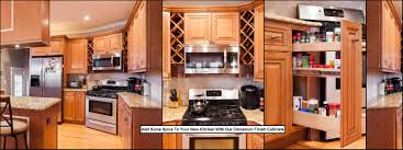 Wine Racks For Cabinets Kitchen Cabinets Spice Drawers Wine Racks In Scottsdale