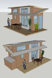 alek lisefski has a plan to build a tiny house for him and designed this project he is a web designer by trade and has a passion for the visual arts