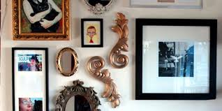 learn to hang wall art in less than  minutes  huffpost