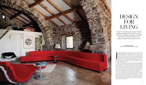 Live Room Design Pierre Paulins Masterpieces Live On In His Former Mountainside