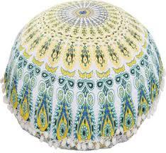 Image Decorative Cushion Bohemian Cushionslarge Ethnic Round Throw Pillowcases 32quotcotton Mandala Floor Cushion Cover Alibaba Bohemian Cushionslarge Ethnic Round Throw Pillowcases 32