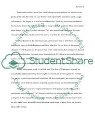 Compare And Contrast Essay On Two Friends Compare And Contrast Two Poets William Wordsworth And