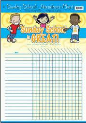Sunday School Sticker Charts Sunday School Charts For Church